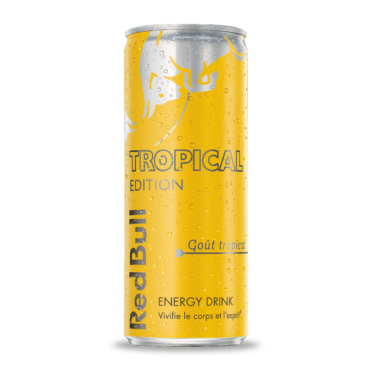 Red Bull tropical